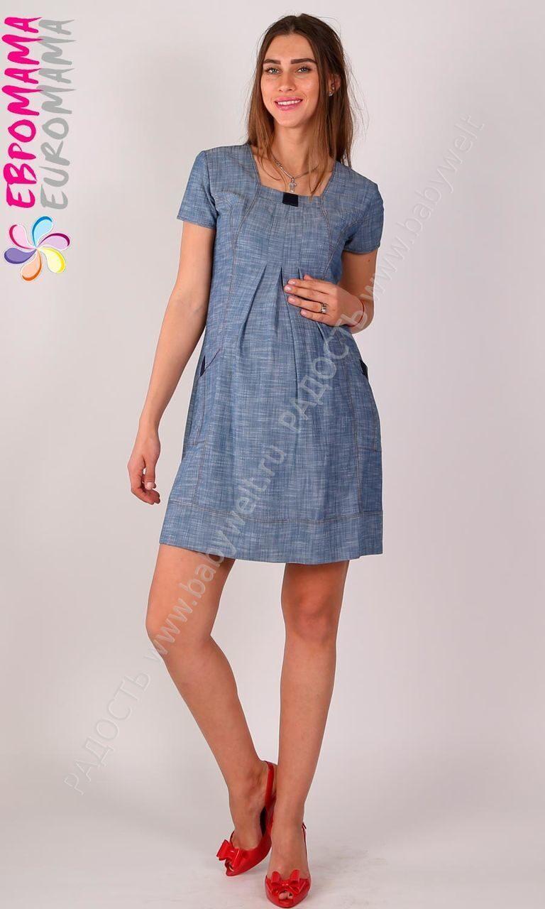 Платье с льна