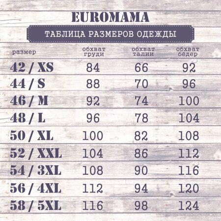 ЕМ таблица размеров одежды